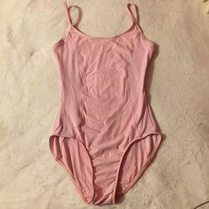 Pastel Pink Leotard. Size Large.
